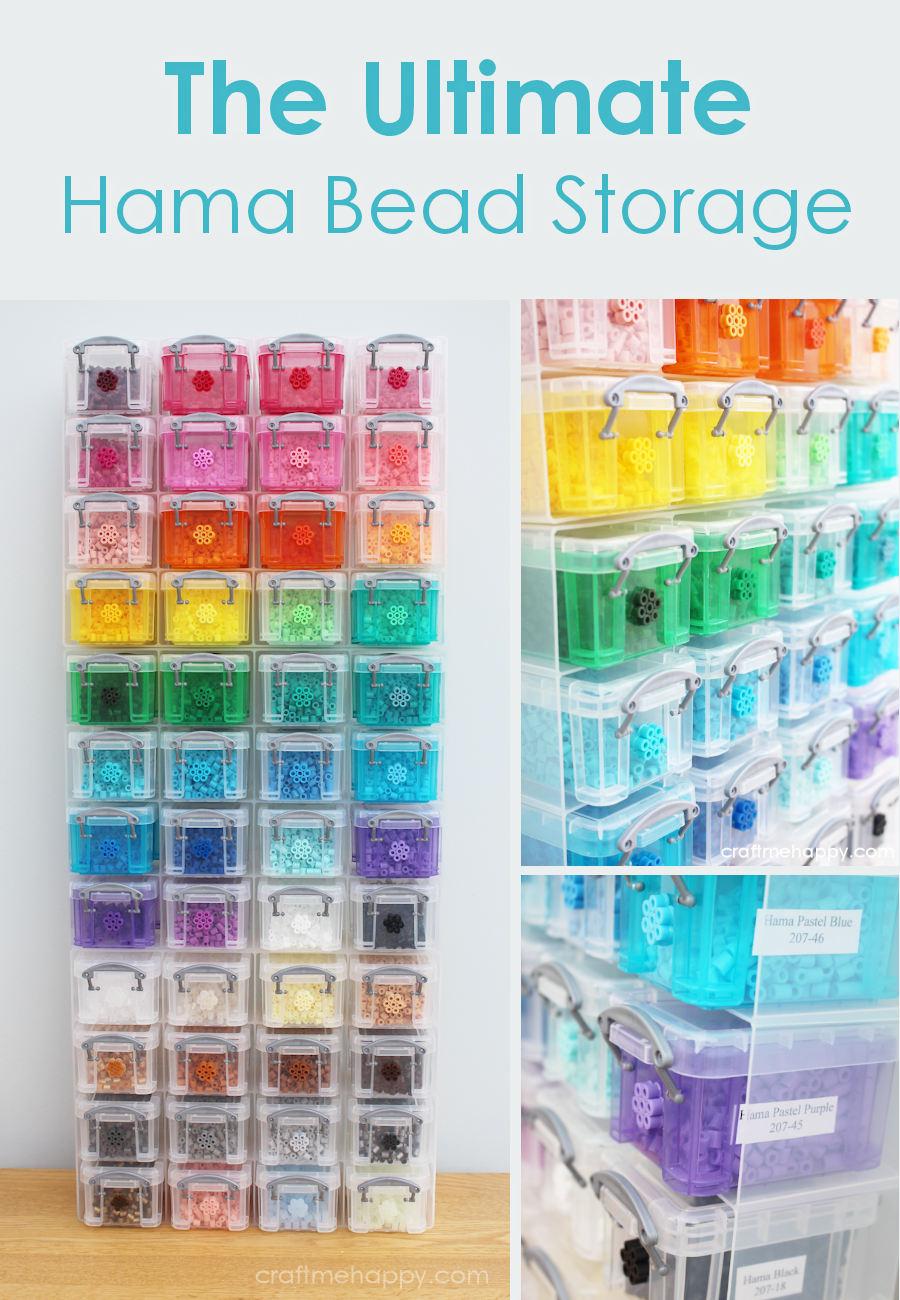 Craft Bead Storage Solutions