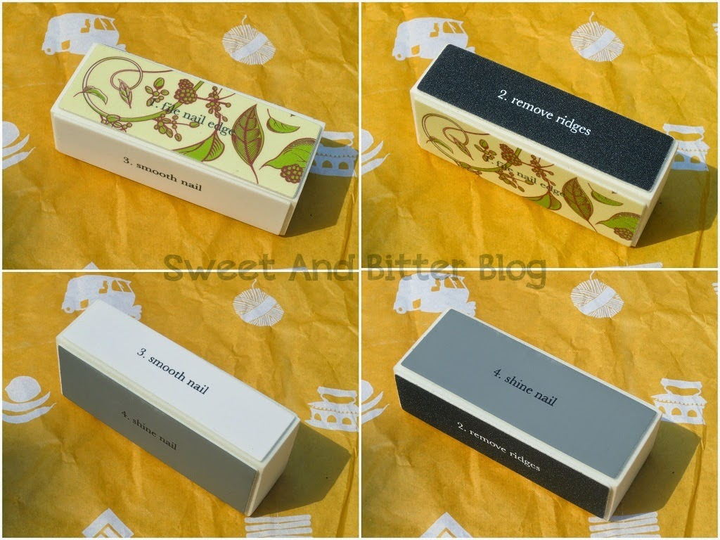 Crabtree & Evelyn Nail File Block