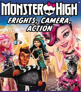 Monster High Frights Camera Action มอนสเตอร์ไฮ ซุปตาร์ราชินีแวมไพร์