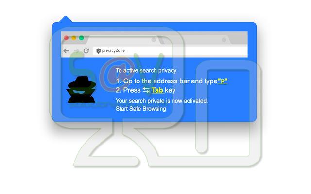 PrivacyZone Search (Extensión)