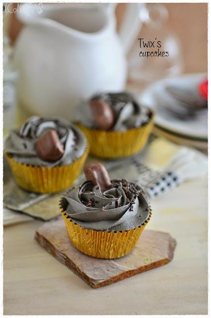 Twix´s cupcakes