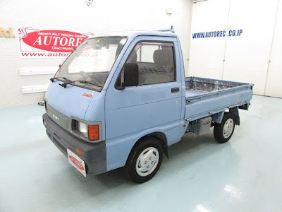 19508A3N8 1992 Daihatsu Hijet 4WD