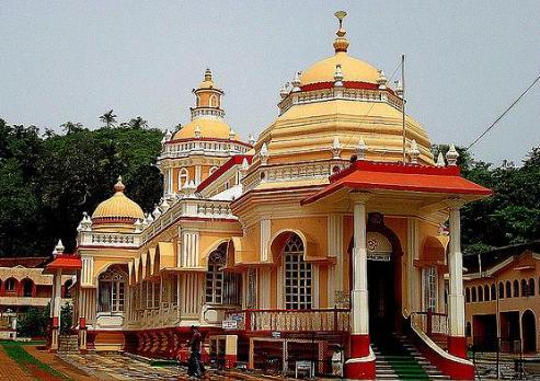 गोवा में हिन्दुओं का मन्दिर