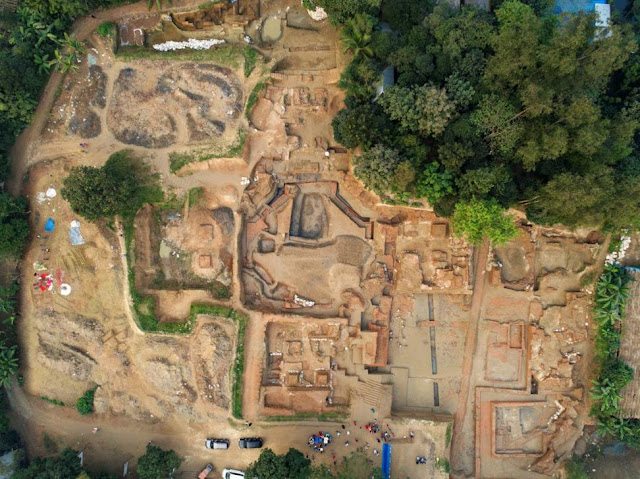 Remnants of Buddhist civilisation unearthed in Bangladesh