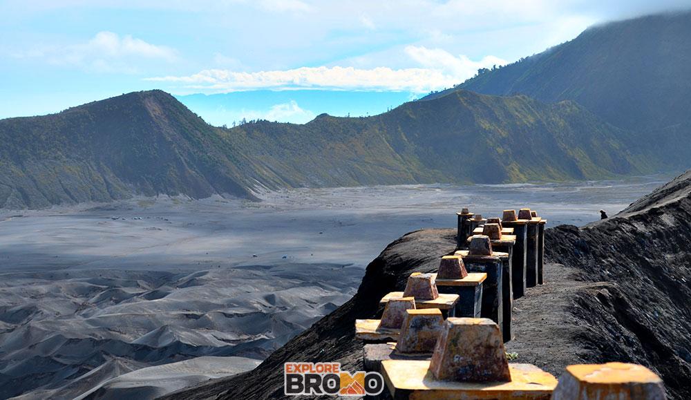 Kawah Aktif Gunung Bromo Wisata Gunung Bromo Tengger Semeru