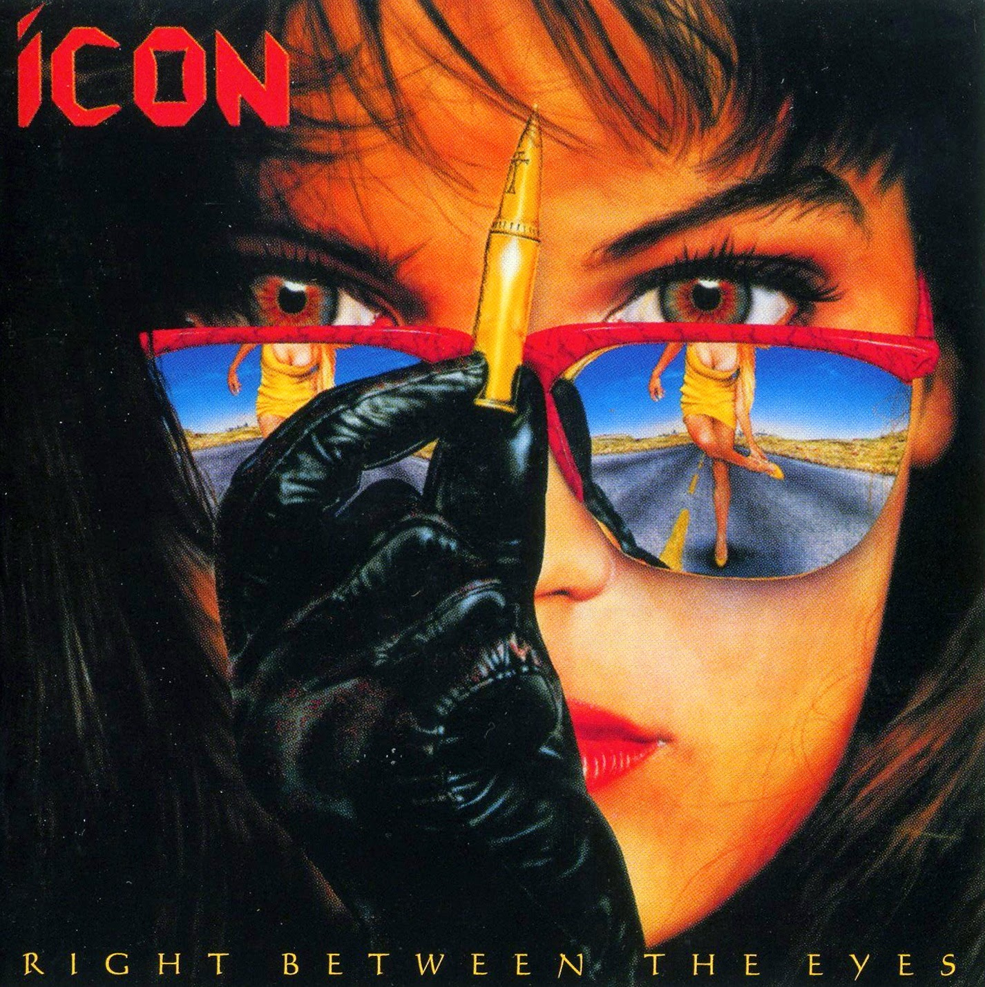 Icon Right between the eyes 1989 aor melodic rock music blogspot albums
