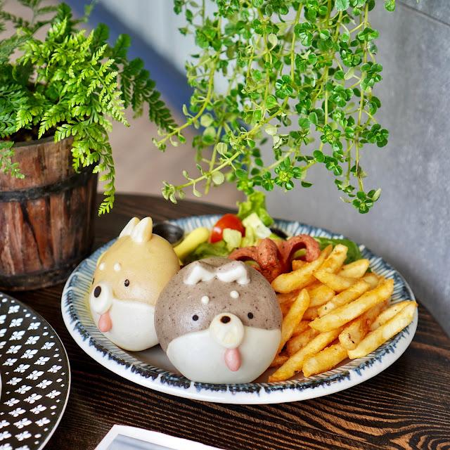 台南美食【豆弄.手作】雙色柴犬餐