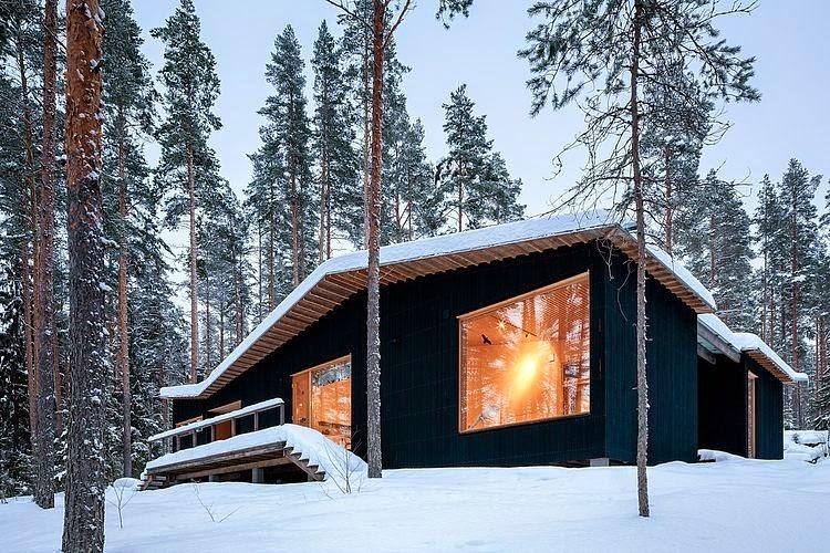 Cabaña en la naturaleza / Playa Architects | Arquitectura y Diseño ...