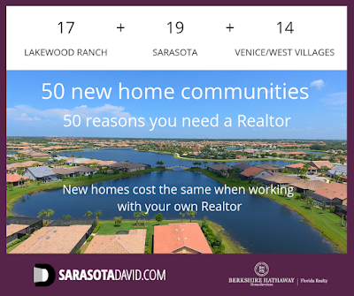 David Barr serves 50 new home communities in the Sarasota area