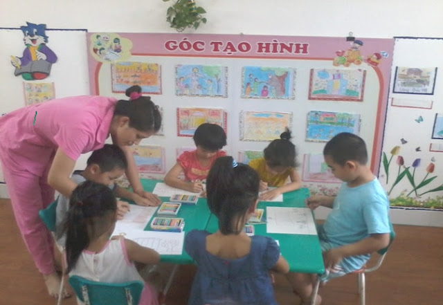 Một số biện pháp rèn kĩ năng vẽ cho trẻ mẫu giáo 5 tuổi