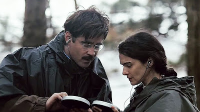 Colin Farrel y Rachel Weisz en la película La langosta - The lobster