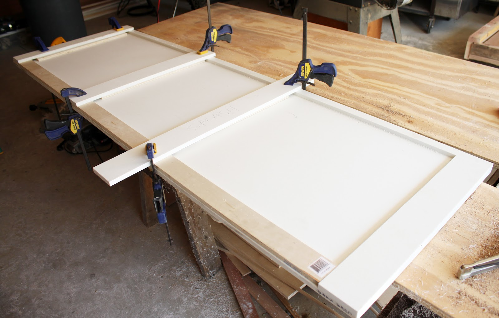 Bathroom redo part six diy solid surface countertops danks and honey