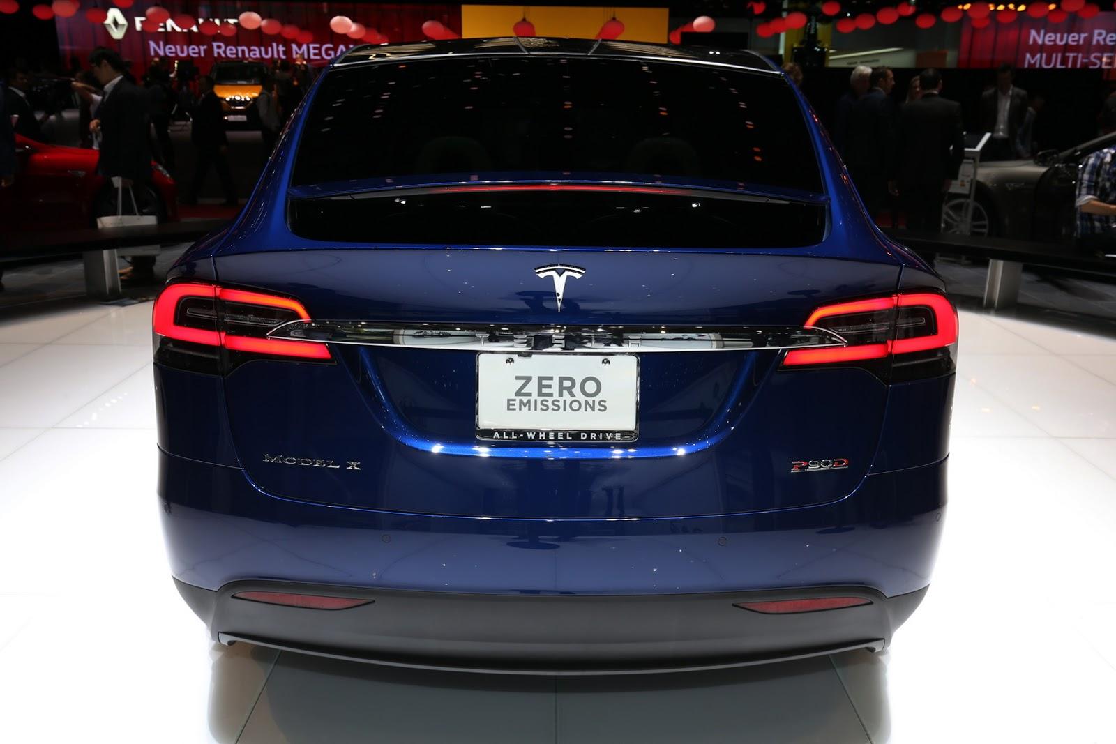 Tesla Model X 2017 chính thức cập bến Châu Âu