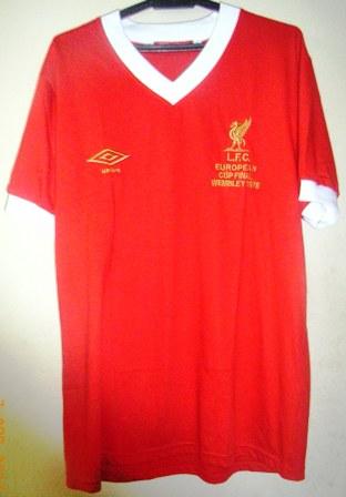 24 Seven Store  Liverpool FC European Cup Final Shirt 0f14b61ac