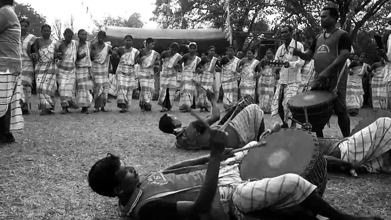Sohrai Harvesting Festival Of Santhals Santali Dance
