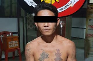 Charles Tato, Pelaku Cabul Diamankan Polisi