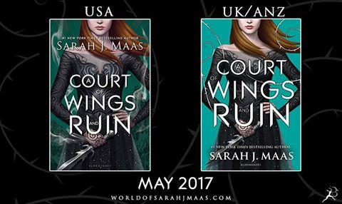 Revelada a capa de A Court Of Wings And Ruin
