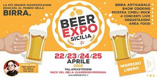 BEER EXPO SICILIA. QUATTRO GIORNI DI EVENTI VARI TRA SHOW COOKING E MUSICA LIVE. TRA GLI OSPITI PINO SCOTTO