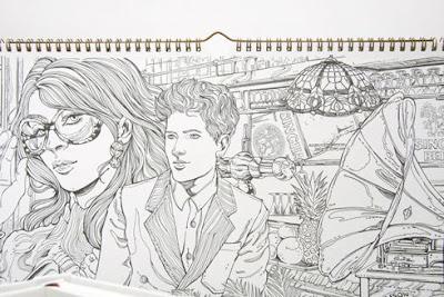 Obra de arte a lápiz