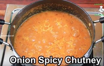 Onion Spicy Chutney
