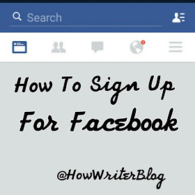 How to sign up for facebook