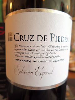 Cruz de Piedra Selección Especial 2014 - DO Catalayud, Spain (89 pts)