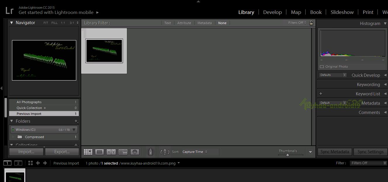 Adobe LightRoom CC Final