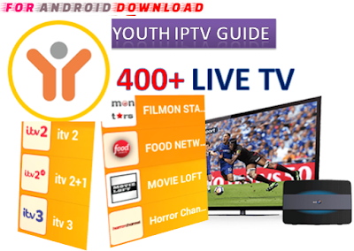 Download Android YouthIPTV Guide Beta Apk -Watch Free Live Cable Tv Channel-Android Update LiveTV Apk  Android APK Premium Cable Tv,Sports Channel,Movies Channel On Android