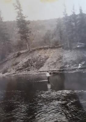 Conejos River, Colorado, Heber Ganus, genealogy, ancestry, fishing, family, summer