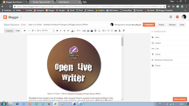 Lembar Kerja Halaman Blogger