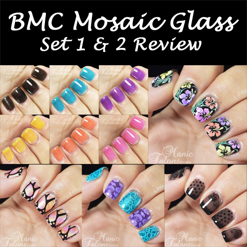 Manic Talons Nail Design: Bundle Monster Mosaic Glass Review
