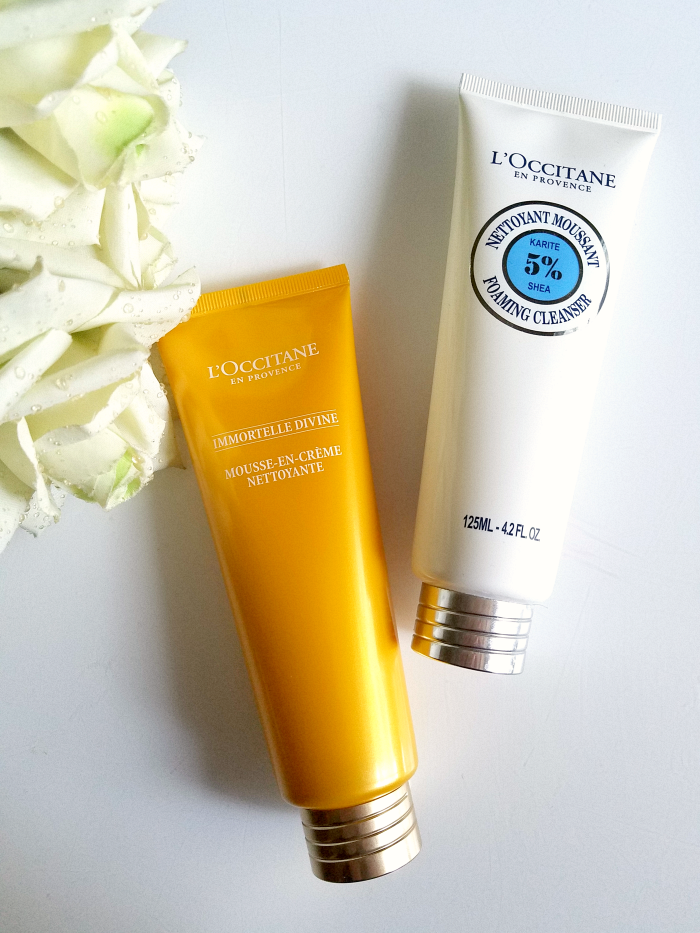 Best of Skincare 2017 - Cleanser / Hautreinigung L´Occitane Reinigungsmousse Karite & Immortelle Divine - Madame Keke The Luxury Beauty & Lifestyle Blog