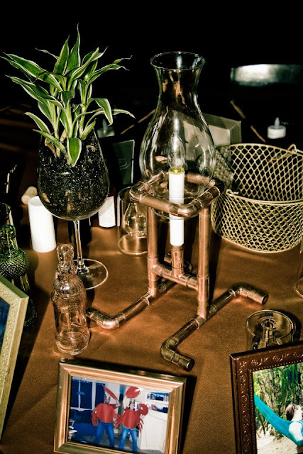 steampunk wedding, steampunk bride and groom, louise black corset, retroscope fashion, kempner park galveston, garten verein, galveston, wedding, steampunk wedding decor, steampunk centerpieces