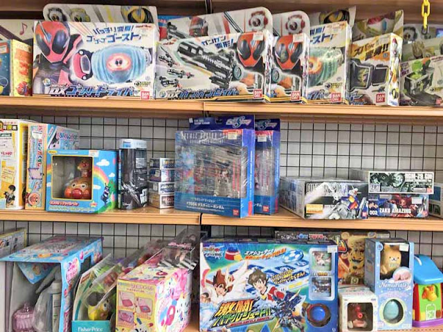 Hard-Off, recycle, store, used, Japan, toys