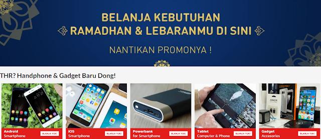 Promo Gadget Smartphone Blanja.com