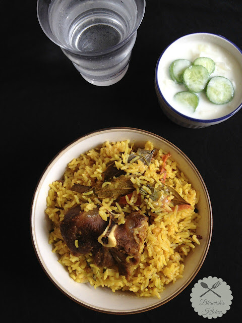 Mutton Briyani - Pressure Cooker Method