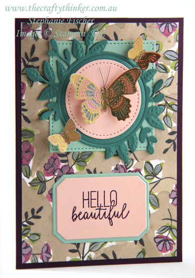 #thecraftythinker #stampinup #cardmaking #saleabration #occasionscatalogue2019 #butterflygala , Butterfly Gala, Sale-A-Bration, Occasions Catalogue 2019, Stampin' Up Australia Demonstrator, Stephanie Fischer, Sydney NSW