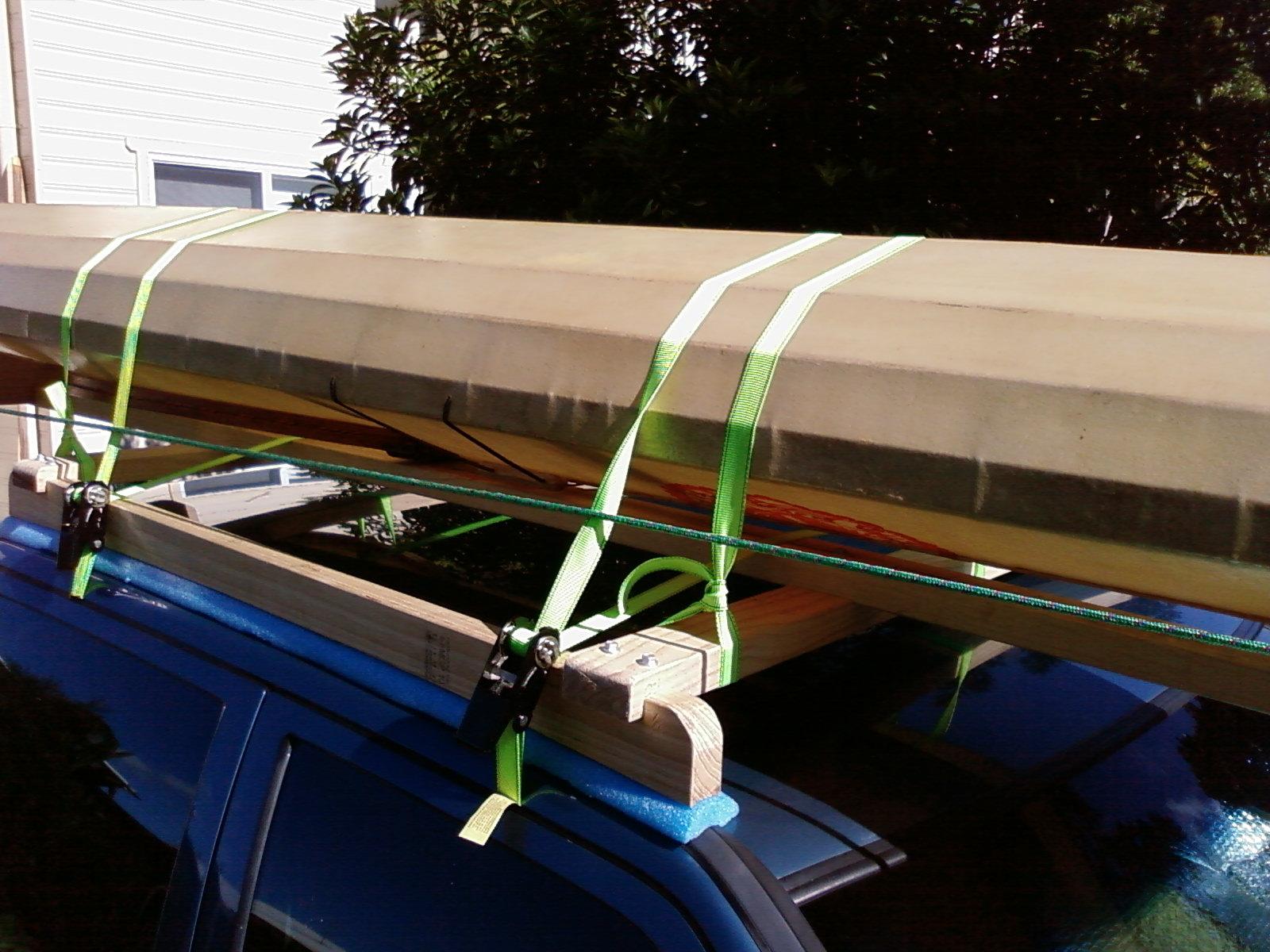 Feral Paddler Home Made Roof Racks