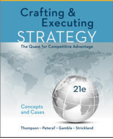the five phases of crafting and executing strategy Description crafting and executing strategy concepts and readings crafting and executing strategy concepts and readings thompson strickland iii gamble.