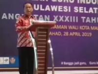 Hadiri Wisuda Akbar SGI, Abdul Rahman Bando Apresiasi Para Wisudawan