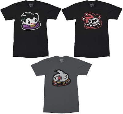Suicide Squad Andre T-Shirt Collection by Crappy Kids - Harley Quinn, The Joker & Deadshot
