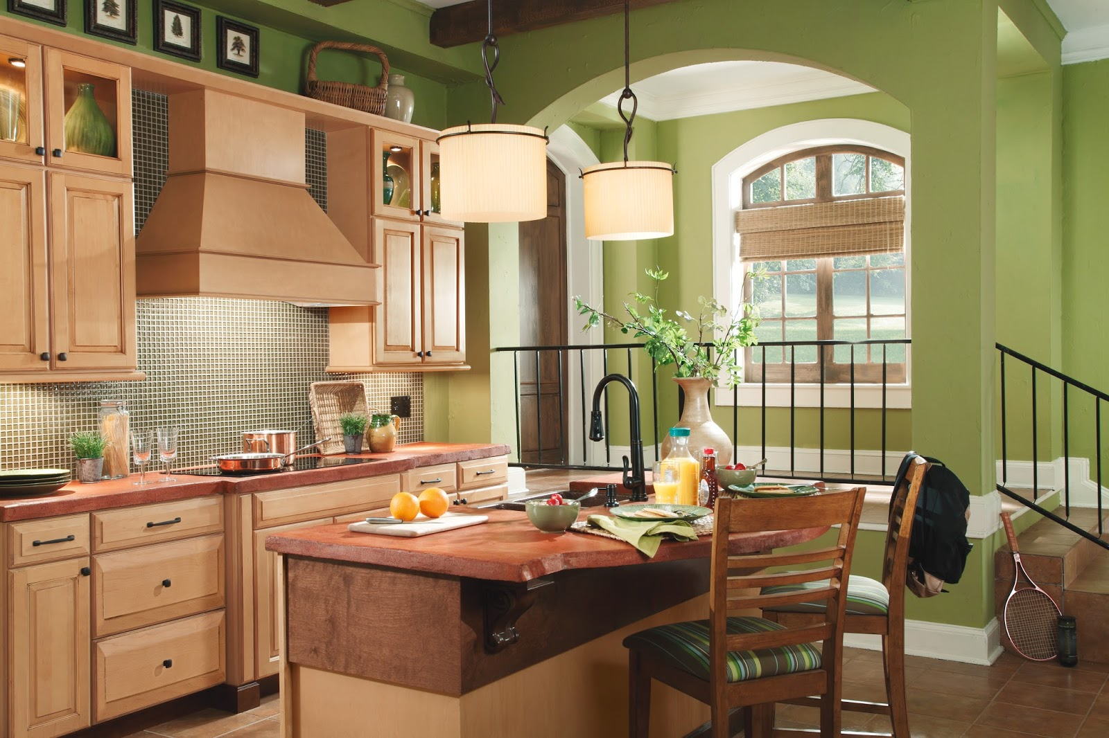 Waypoint Kitchen Cabinets Hotels With Kitchens Living Spaces 620d