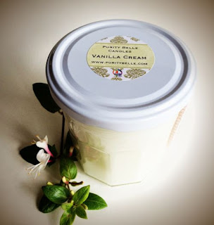 Irish Soy Candles by Purity Belle Upcycled Vanilla Cream
