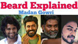 Beard Facts   Madan Gowri   MG