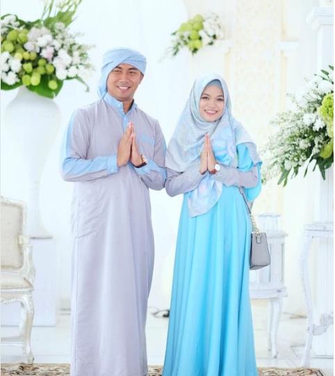 Inspirasi Seragam Baju Pernikahan keluarga aagym