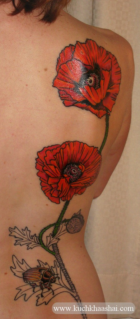 Poppy Flower Tattoo Meaning: Poppy Flower Tattoo:Meaning And Designs