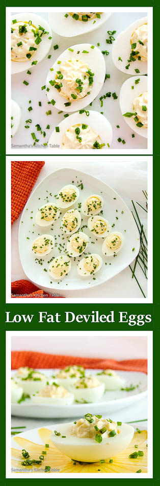 Low Fat Deviled Eggs