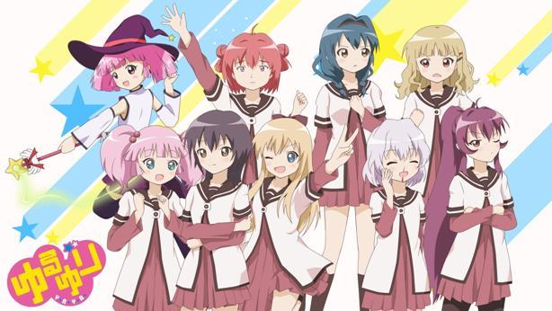 Daftar Anime School Comedy Terbaik dan Terpopuler - Yuru-Yuri