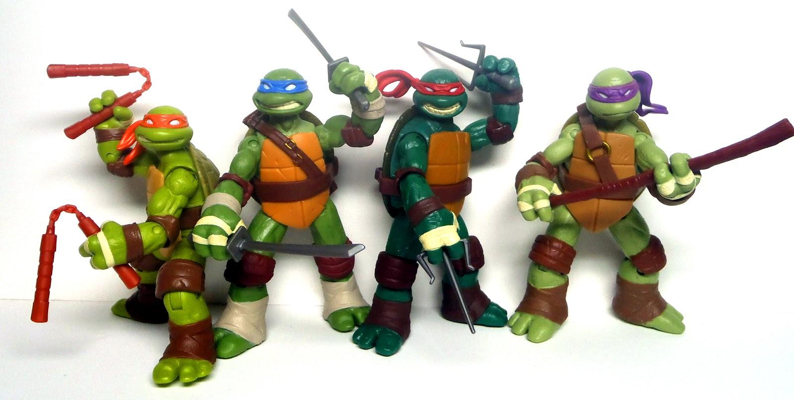 Taylor's Sweet Little Art and Nerd Site: Teenage Mutant ... Ninja Turtles Toy Ninja Turtles
