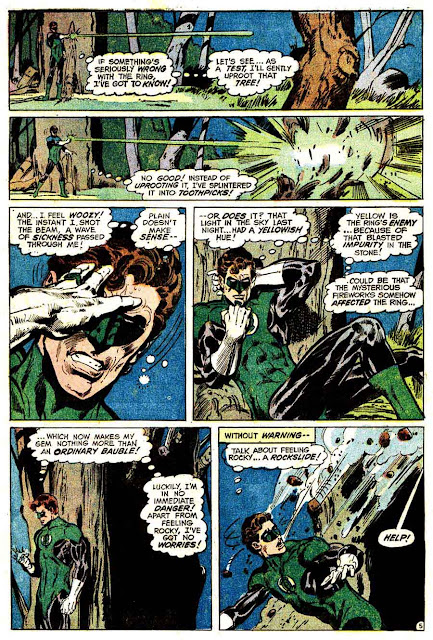 The Flash v1 #226 dc comic book page art by Neal Adams